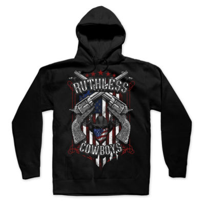 RENEGADE - UNISEX PREMIUM PULLOVER HOODIE MADE IN USA - BLACK Thumbnail