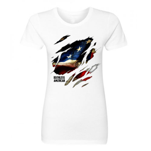 PRIDE WITHIN - WOMEN'S PREMIUM S/S TEE MADE IN USA - WHITE Thumbnail