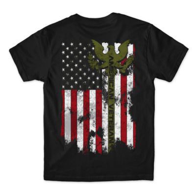 VETERAN THIS WE'LL DEFEND - MEN'S PREMIUM S/S TEE MADE IN USA - BLACK Thumbnail