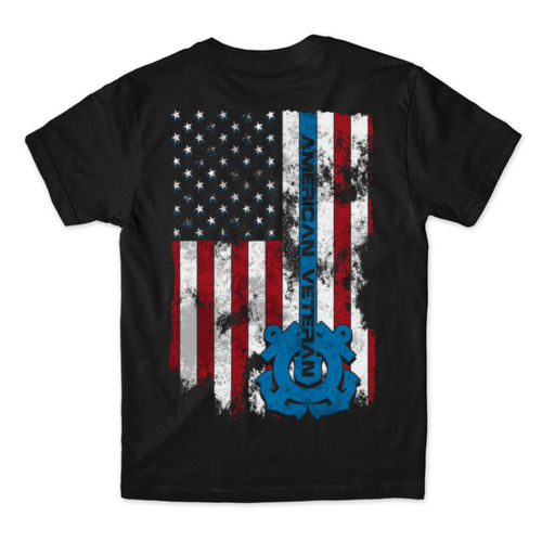 VETERAN SEMPER PARATUS - MEN'S PREMIUM S/S TEE MADE IN USA - BLACK Thumbnail