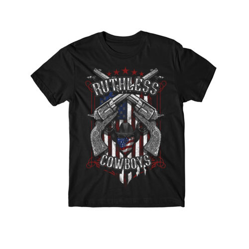RENEGADE - PREMIUM YOUTH S/S TEE MADE IN USA - BLACK Thumbnail