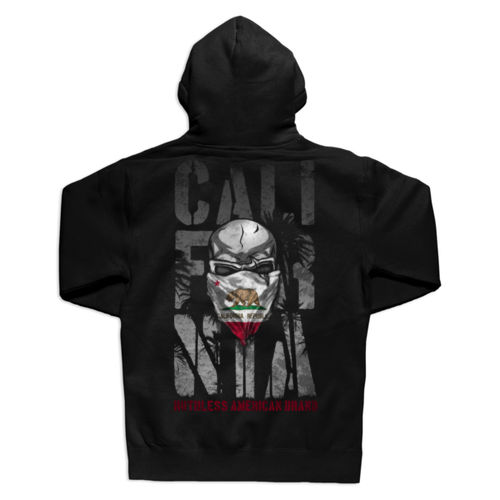 RUTHLESS CALI - PREMIUM UNISEX PULLOVER HOODIE MADE IN THE USA - BLACK 2 Thumbnail
